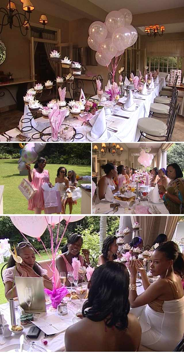 Top Billing attends Sonia Sedibe's Baby Shower